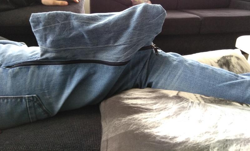 Spijkerbroek voor fixateur externe